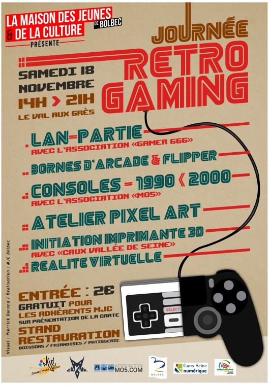 2017-11-18 Bolbec retro gaming