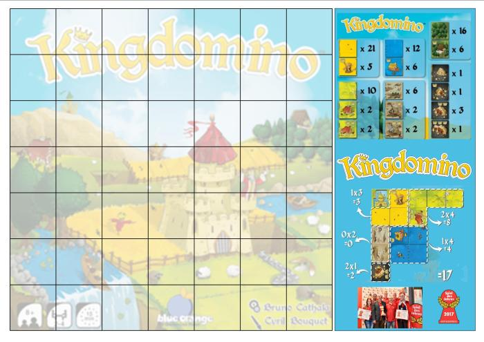 kingdomino tapis